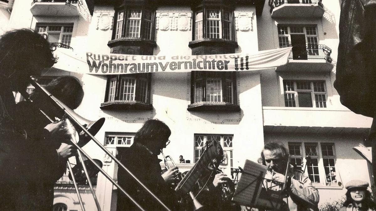 Tuten & Blasen vorm Haus, 1978